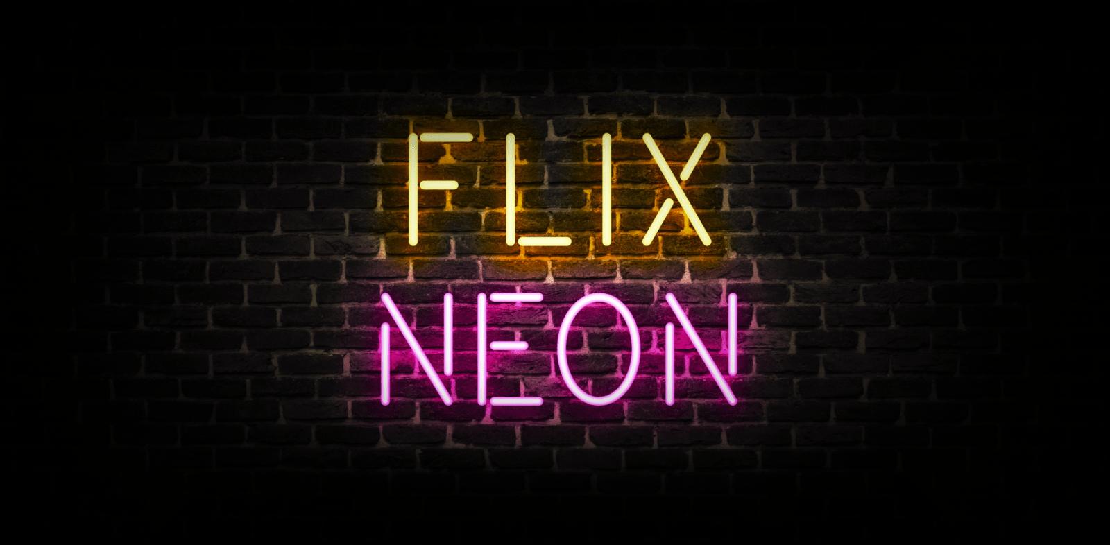 Неоновые вывески FLIX NEON