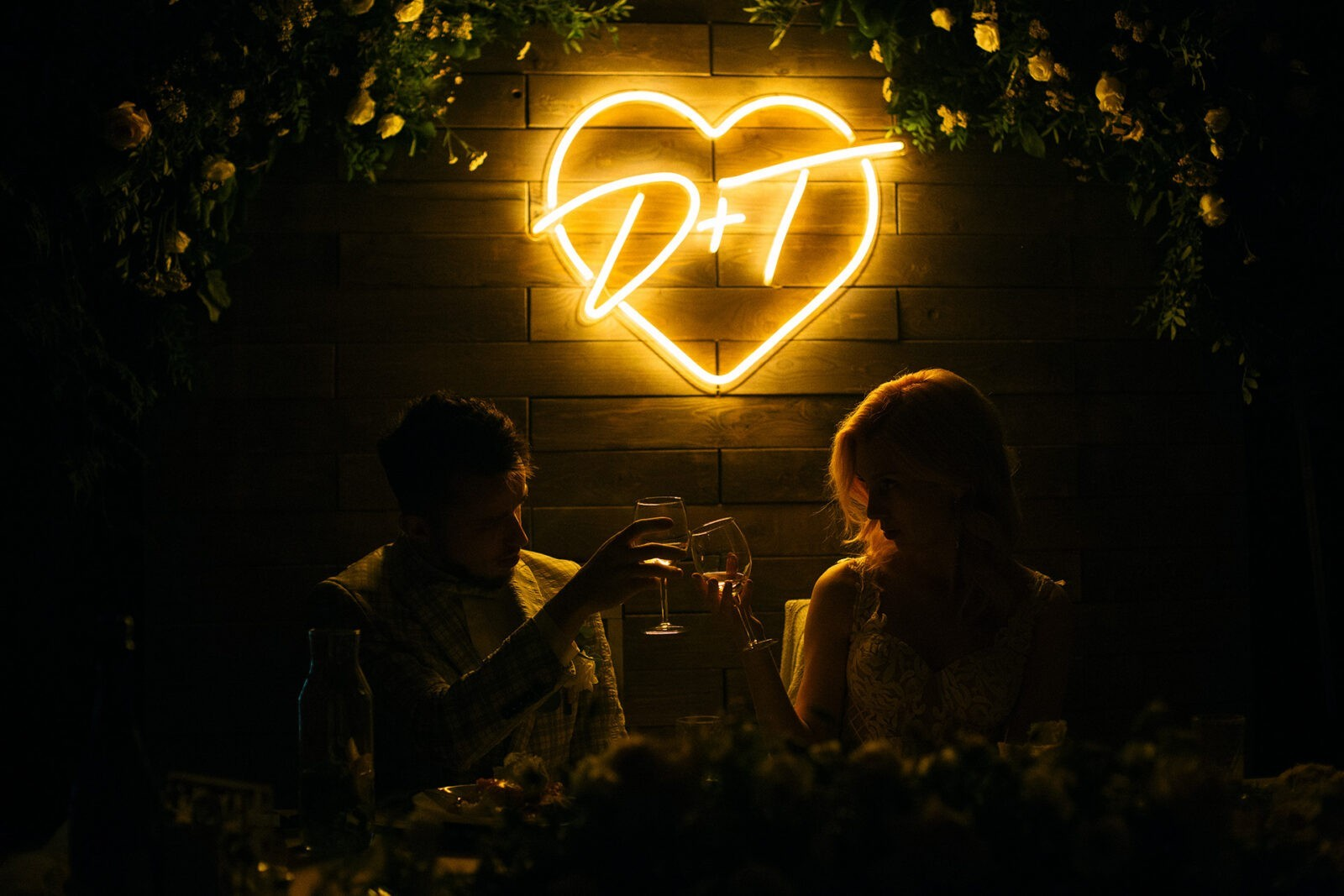 Сердце с инициалами